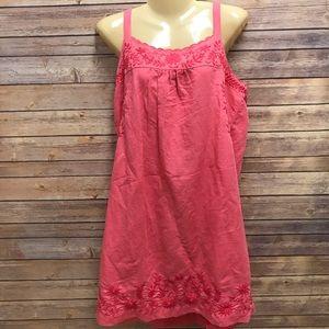 { Lucky Brand } NWT pink linen dress